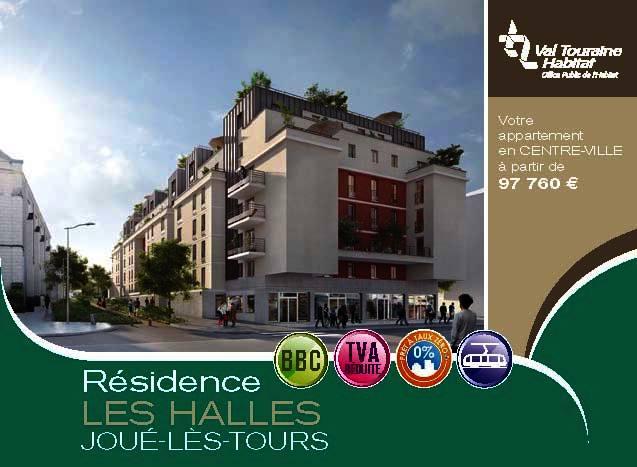 Location appartements tours
